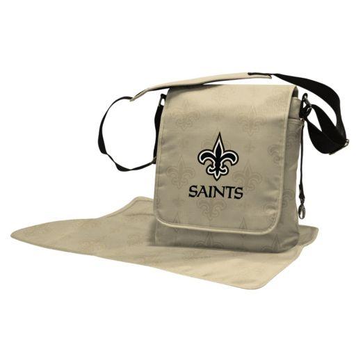 New Orleans Saints Lil' Fan Diaper Messenger Bag
