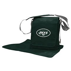 New York Jets Lil' Fan Diaper Messenger Bag