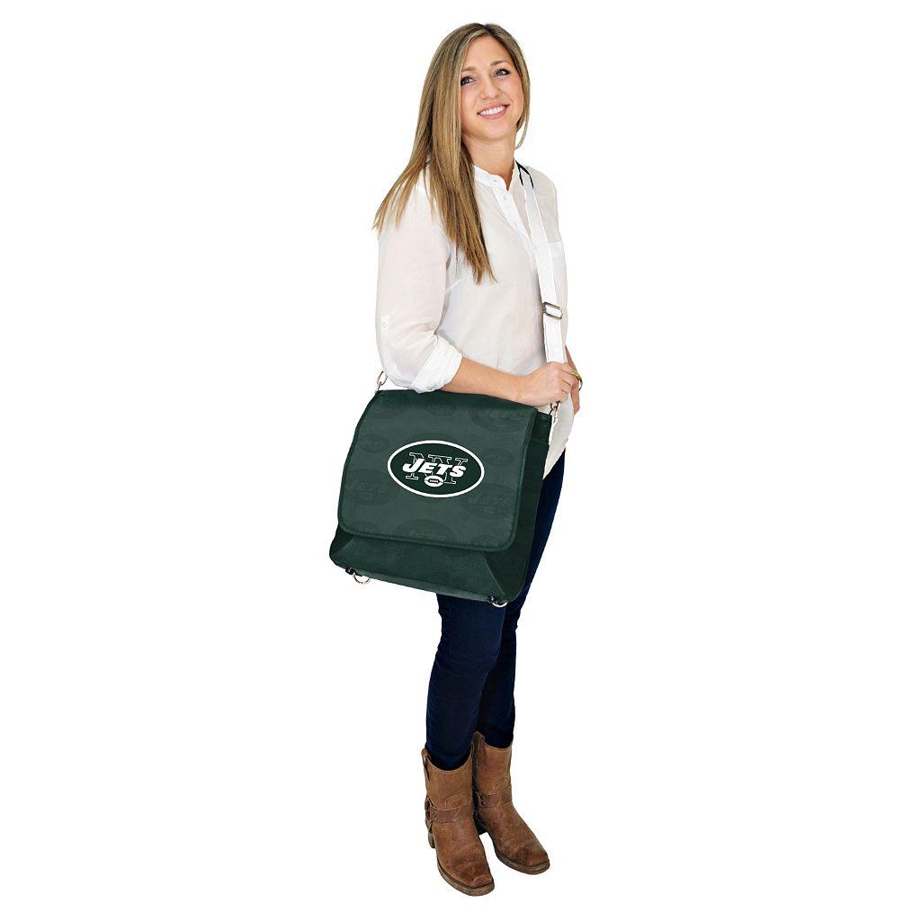 New York Jets Lil' Fan Diaper Messenger Bag