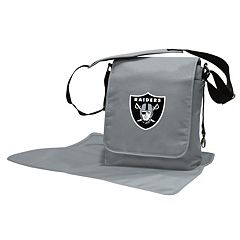 Oakland Raiders Lil' Fan Diaper Messenger Bag
