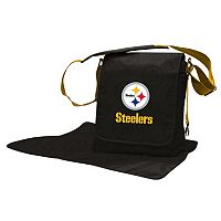Pittsburgh Steelers Lil' Fan Diaper Messenger Bag