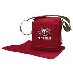 San Francisco 49ers Lil' Fan Diaper Messenger Bag