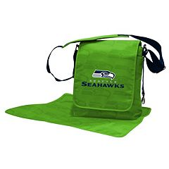 Seattle Seahawks Lil' Fan Diaper Messenger Bag