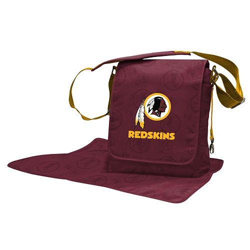 Washington Redskins Lil' Fan Diaper Messenger Bag