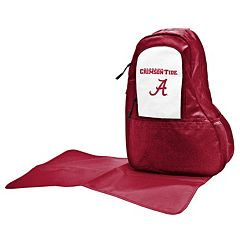 Alabama Crimson Tide Lil' Fan Diaper Sling Backpack