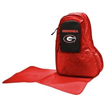 Georgia Bulldogs Lil' Fan Diaper Sling Backpack