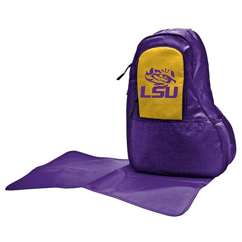 LSU Tigers Lil' Fan Diaper Sling Backpack
