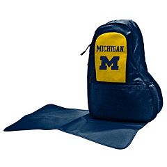 Michigan Wolverines Lil' Fan Diaper Sling Backpack