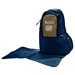 Notre Dame Fighting Irish Lil' Fan Diaper Sling Backpack