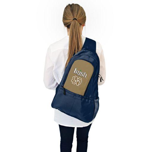 Notre Dame Fighting Irish Lil' Fan Diaper Sling Backpack