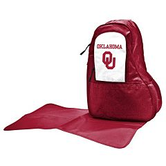 Oklahoma Sooners Lil' Fan Diaper Sling Backpack