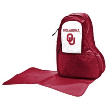 Oklahoma Sooners Lil' Fan Diaper Sling Backpack