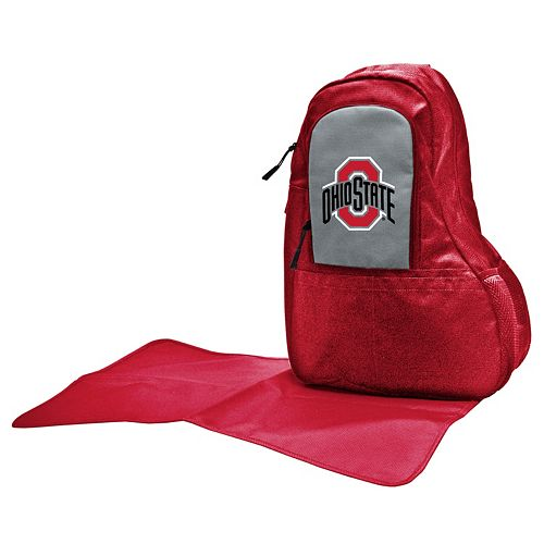 Ohio State Buckeyes Lil' Fan Diaper Sling Backpack