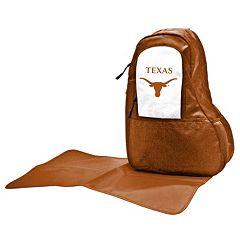 Texas Longhorns Lil' Fan Diaper Sling Backpack