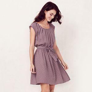 Women's LC Lauren Conrad Love, Lauren Pleated Shift Dress