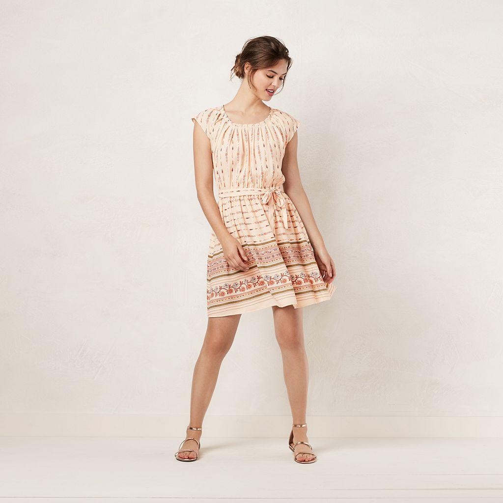 Women's LC Lauren Conrad Pleated Shift Dress