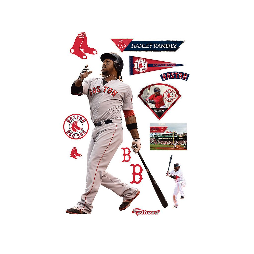 Boston Red Sox Hanley Ramirez Wall Decal by Fathead