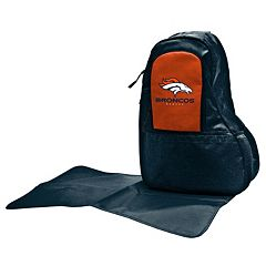 Denver Broncos Lil' Fan Diaper Sling Backpack