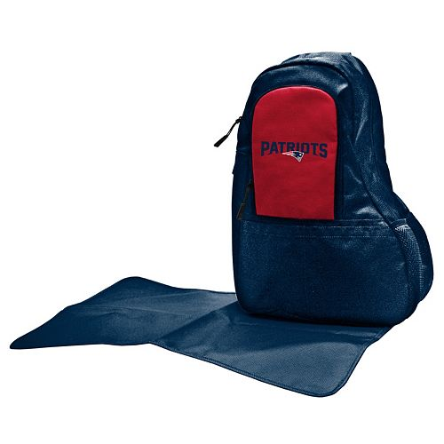 New EnglandPatriots Lil' Fan Diaper Sling Backpack