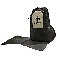 New Orleans Saints Lil' Fan Diaper Sling Backpack