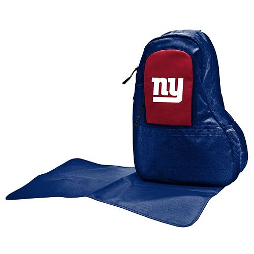 New York Giants Lil' Fan Diaper Sling Backpack