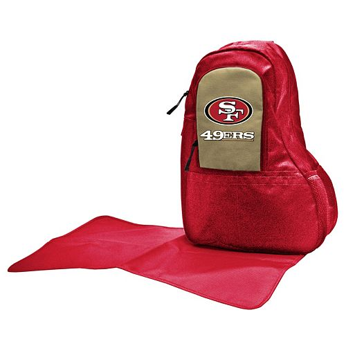 San Francisco 49ers Lil' Fan Diaper Sling Backpack