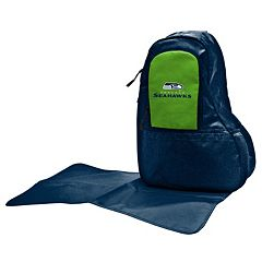 Seattle Seahawks Lil' Fan Diaper Sling Backpack
