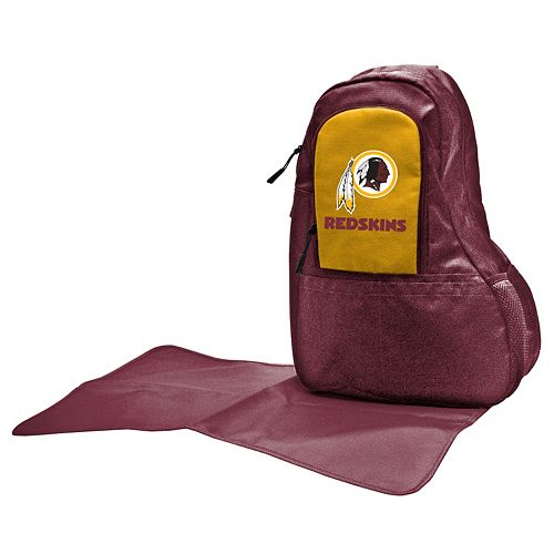 Washington Redskins Lil' Fan Diaper Sling Backpack