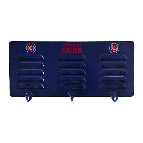Chicago Cubs Locker Coat Rack