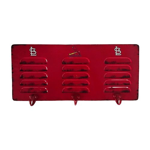 St. Louis Cardinals Locker Coat Rack
