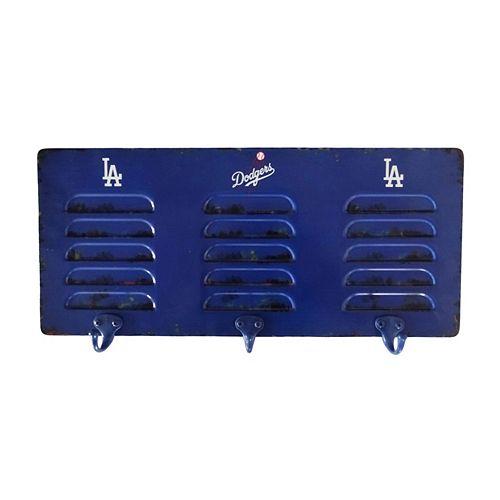 Los Angeles Dodgers Locker Coat Rack