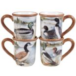 Certified International Lake Life 4-pc. Mug Set