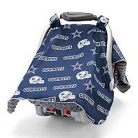 Baby Fanatic Dallas Cowboys Car Sear Canopy