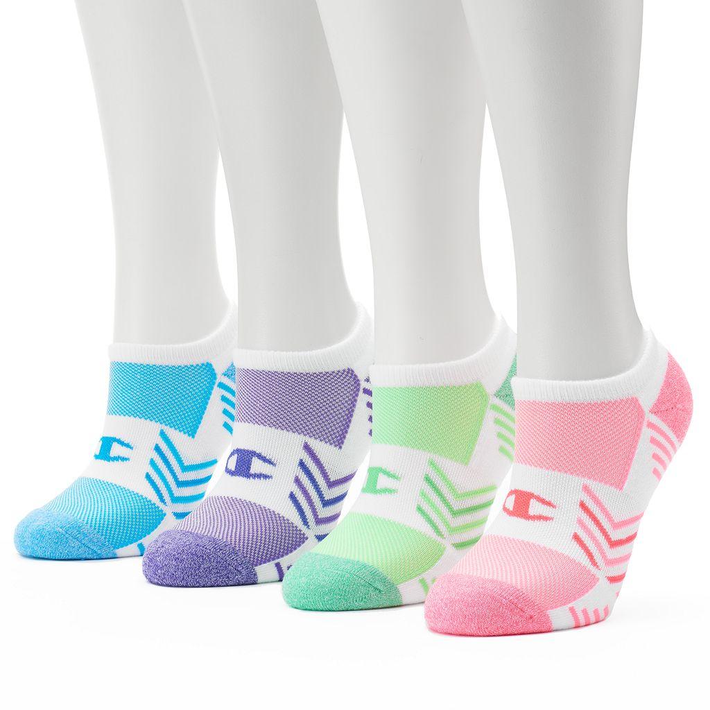 Women's Champion 4-pk. Performance No-Show Socks
