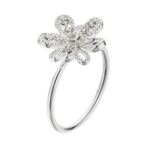 LC Lauren Conrad Openwork Flower Ring