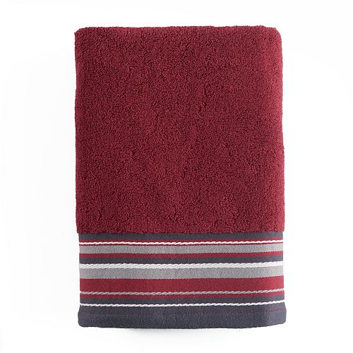 Evan Stripe Bath Towel