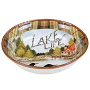 Certified International Lake Life 13 in Serving Bowl