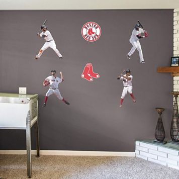 Boston Red Sox Power Pack Wall Decals by Fathead