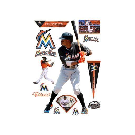 Miami Marlins Dee Gordon Wall Decal by Fathead