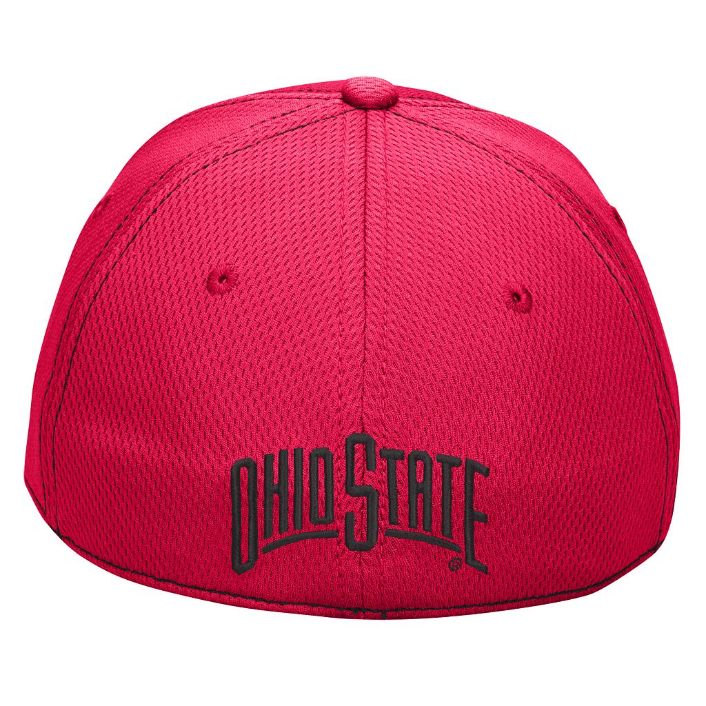 Men's Ohio State Buckeyes Pin Point Flex Fitted Cap