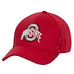 Men's Ohio State Buckeyes TLG Circuit Tech Flex Fitted Cap