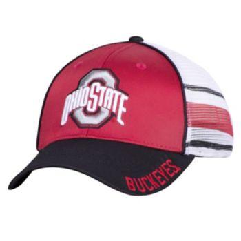 Men's Ohio State Buckeyes Audible Mesh Flex Fitted Cap