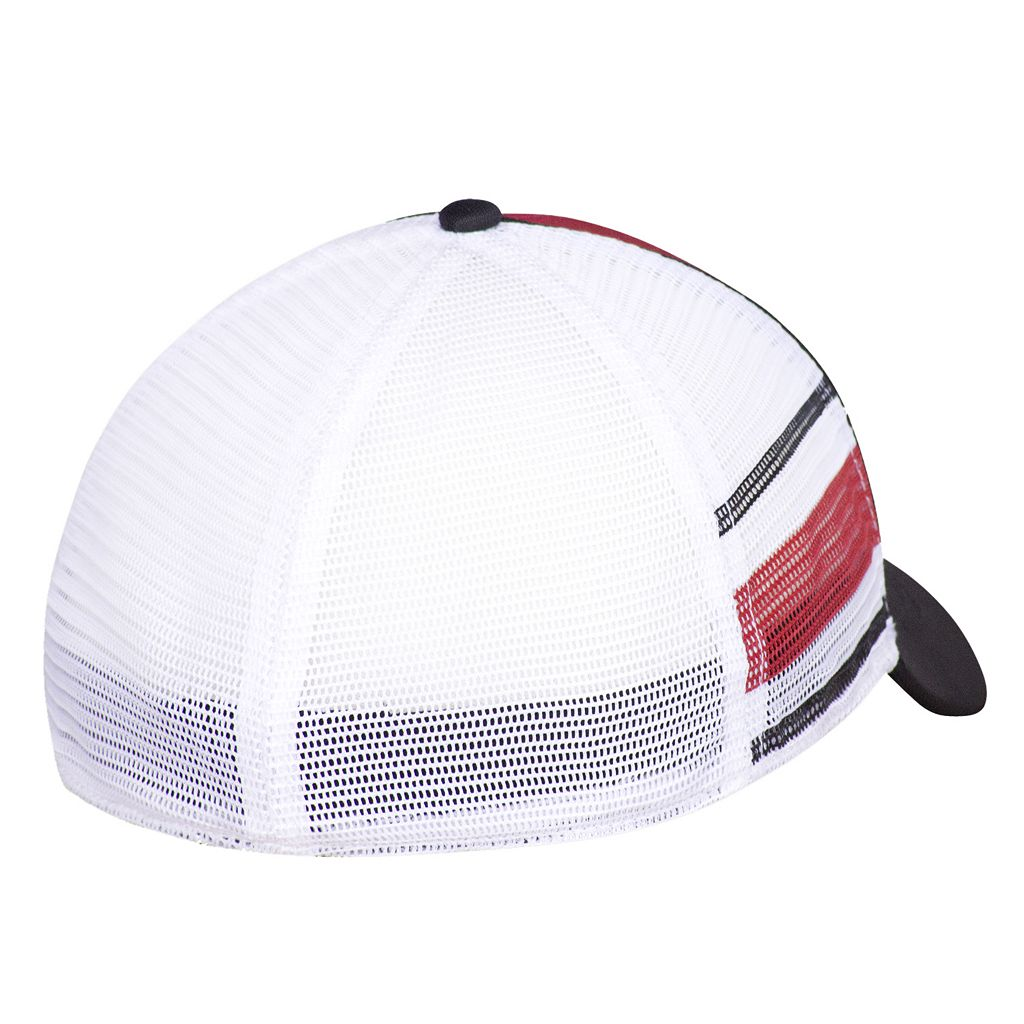 Men's Ohio State Buckeyes Audible Mesh Flex Fitted Cap