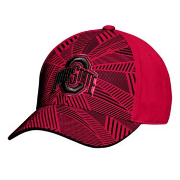 Men's Ohio State Buckeyes Tonal Shatter Flex Fitted Cap