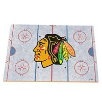 Chicago Blackhawks Replica Hockey Rink Foam Puzzle Floor