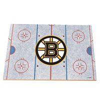 Boston Bruins Replica Hockey Rink Foam Puzzle Floor