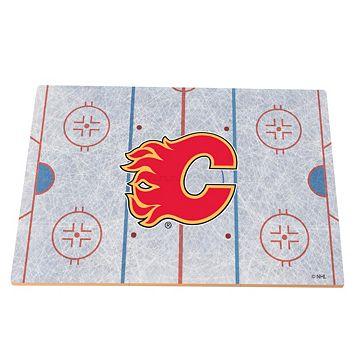 Calgary Flames Replica Hockey Rink Foam Puzzle Floor
