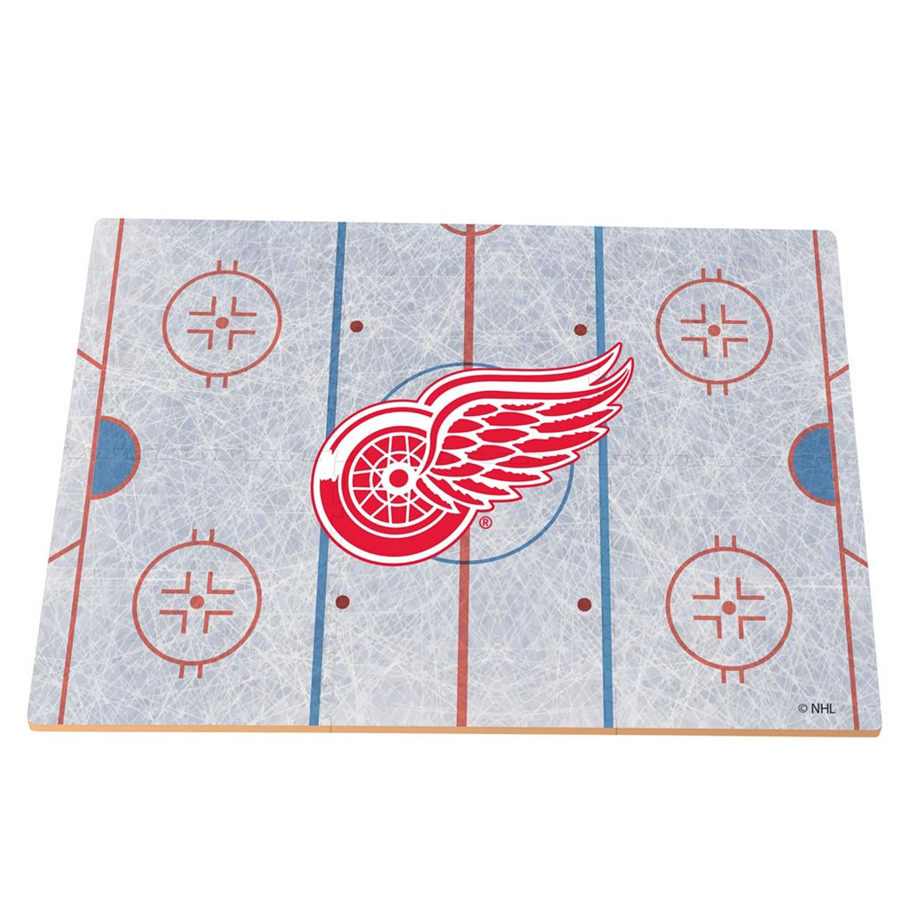Detroit Red Wings Replica Hockey Rink Foam Puzzle Floor
