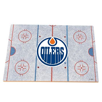 Edmonton Oilers Replica Hockey Rink Foam Puzzle Floor