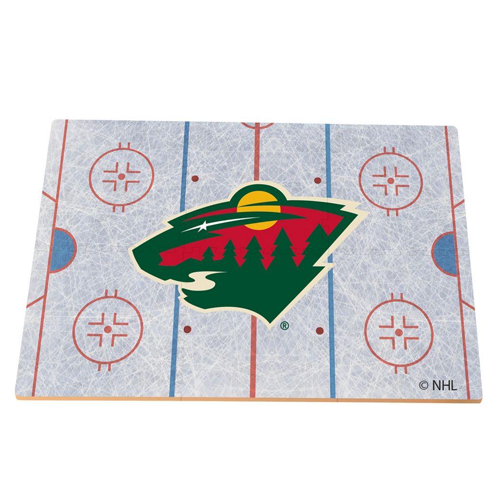 Minnesota Wild Replica Hockey Rink Foam Puzzle Floor